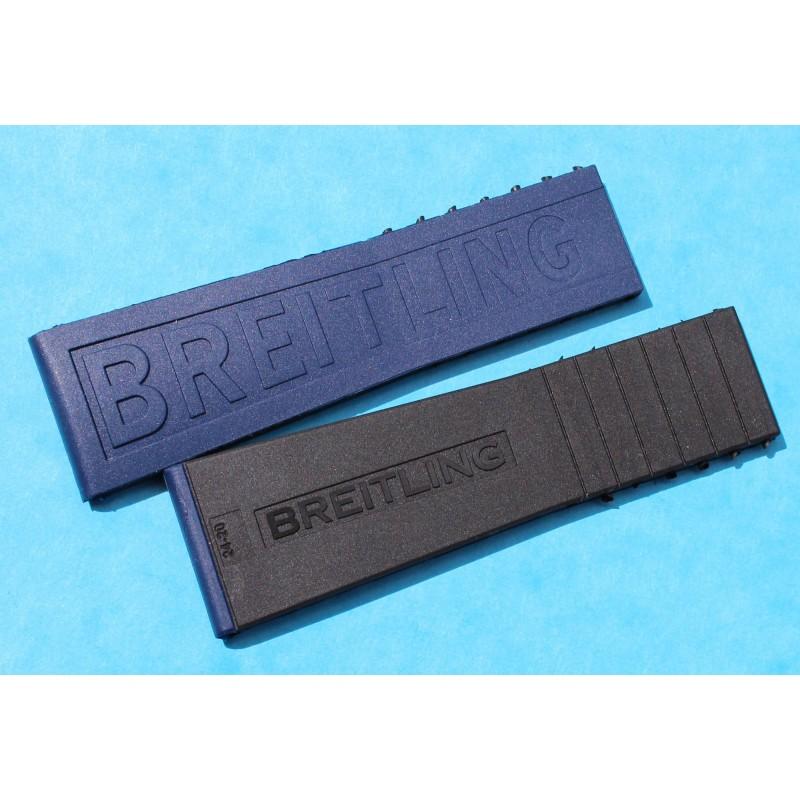 BREITLING BRACELET NOIR / BLEU PRO DIVER III 24/20mm MONTRES Aerospace Avantage, Airwolf, B1, B2, Bentley GT, Bentley GT Racing
