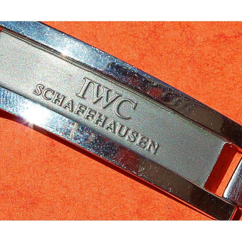 Original IWC joins Montre-Bracelet Boucle Ardillon Montres Bracelet Acier 18 mm satiné