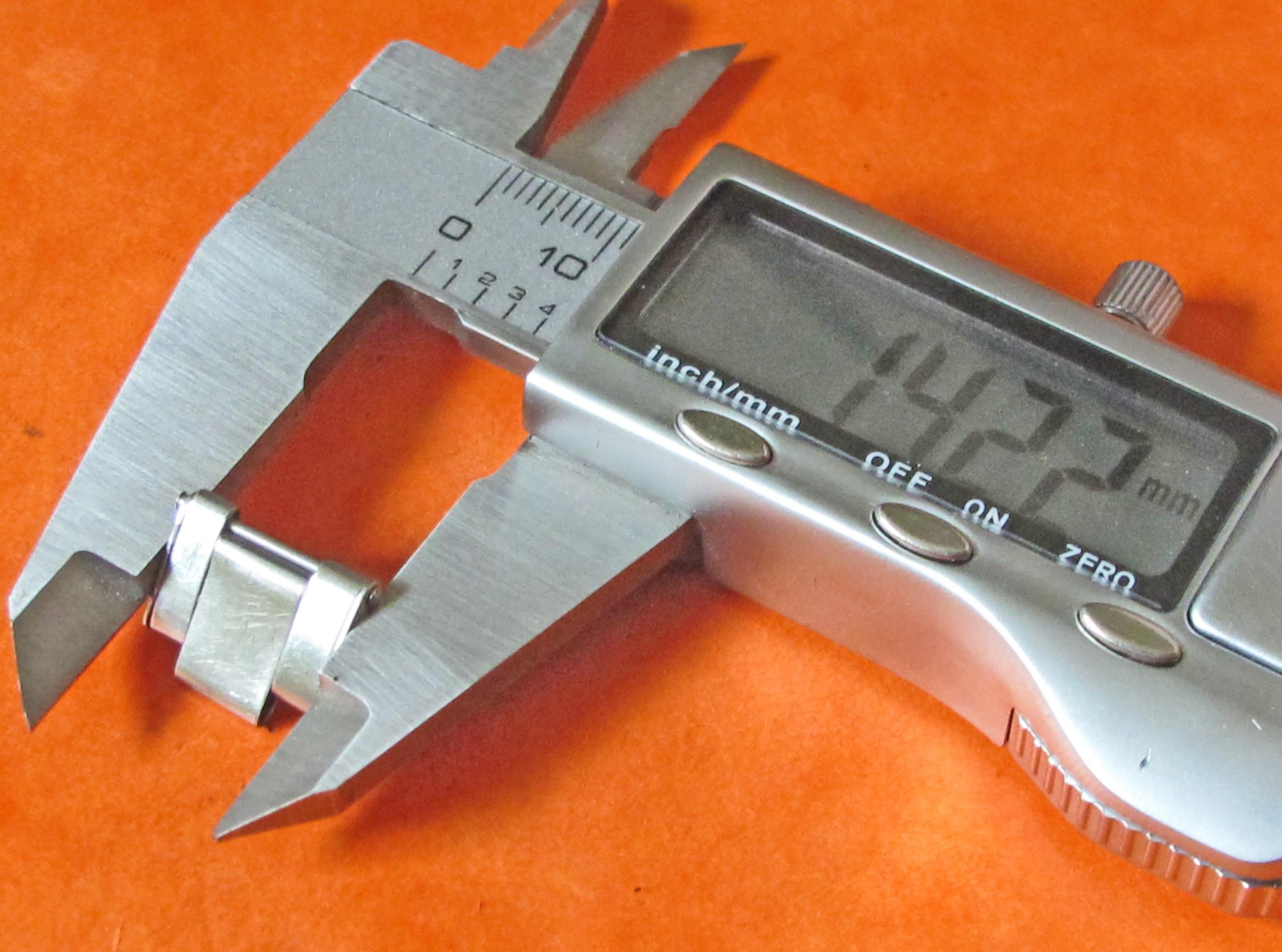 1 x RIVET RIVETED EXTENSION BRACELET LINK  ROLEX  TUDOR VINTAGE 14.22mm