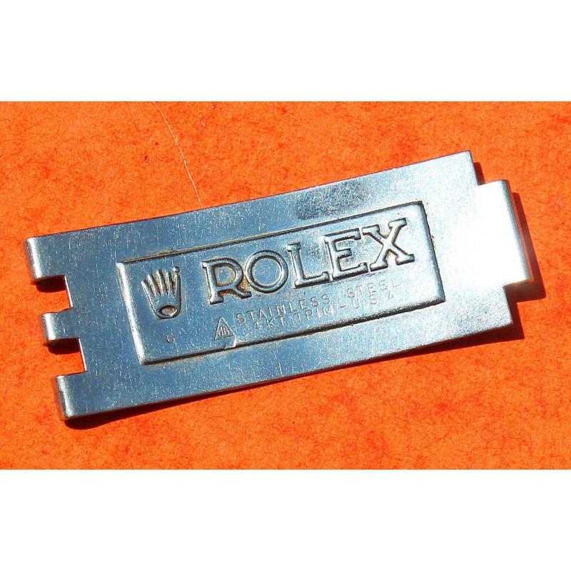 ROLEX LAME DE FERMOIR BIG LOGO 14KT TRIM USA BRACELET 20mm JUBILEE JB MONTRES DATEJUST & GMT