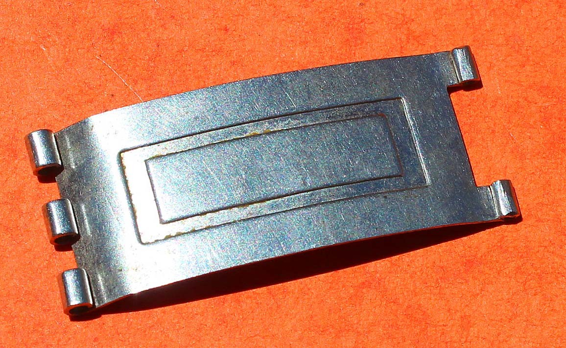 ROLEX RARE 14KT TRIM OVAL LINK USA JUBILEE BRACELET WATCH BLADE FOLDED CLASP BUCKLE
