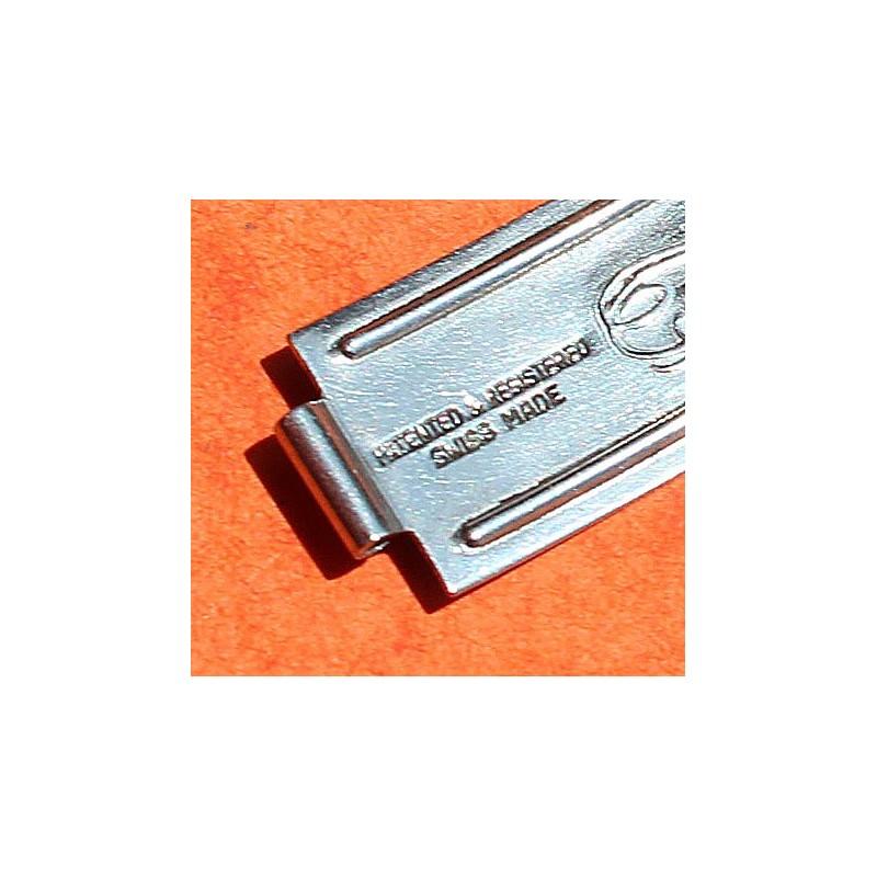 Rolex Vintage 1965 Daytona, Precision, Oyster perpetual, Big Crown Buckle rivits 7205, 6635 Bracelet 19mm Watch folded Clasp