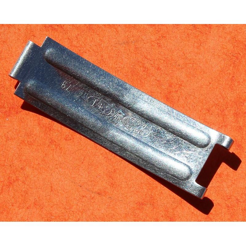 1 LAME ACIER DE FERMOIR ROLEX USA C&I 1968 RIVETS DAYTONA 6263, 6265, 6240, PRECISION OYSTER PERPETUAL BRACELET 19mm