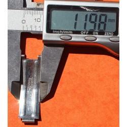 1 x VINTAGE 1968 BLADE C&I ROLEX FOLDED CLASP BUCKLE RIVETS DAYTONA 6263, 6240, 6265 AIR KING PRECISION OYSTER BRACELETS 19mm