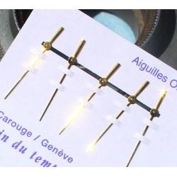 ROLEX AIGUILLES TRITIUM OR JAUNE MONTRES OYSTER PERPETUAL DATE 15008 CAL 3035