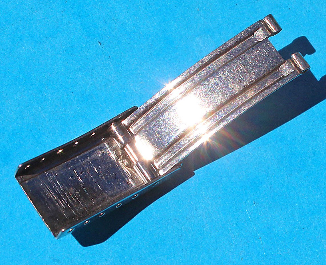 Rolex Genuine Ladies Preowned Datejust watches Clasp 11mm for a 13mm Bracelet, Stainless Steel ref 62523D18, 78340