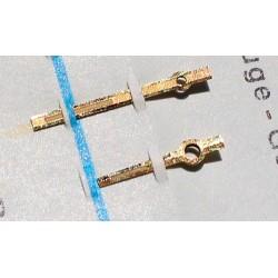 ROLEX JEU COMPLET AIGUILLES TRITIUM OR JAUNE MONTRES OYSTER PRECISION 6694 CAL 1210