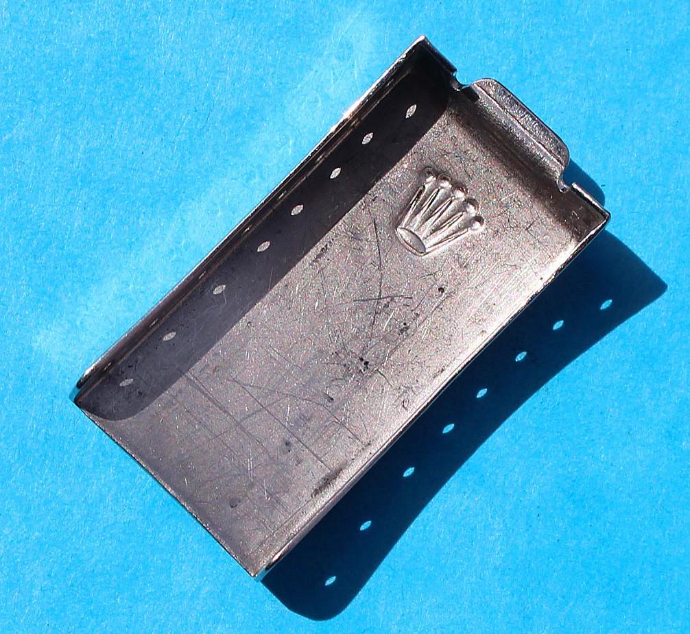 ROLEX 1980 USED WATCH FOLDED CLASP DEPLOYANT Ref 78350 19mm BRACELETS OYSTER CODE VE
