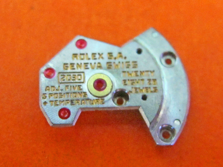 Rolex 2030 automatic bridge part 4471 watch movement