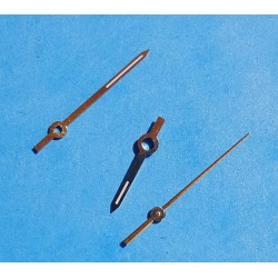Rolex authentiques aiguilles or luminova montres DateJust ou Oyster Pepertual Calibre Automatique