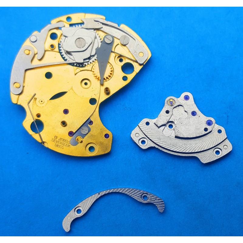 Lot Fourniture horlogère montres roues, pignons, axe