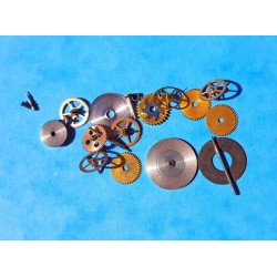 Lot Of Watch spares, what part, watch accessories, axle, wheels, screws, balance, watch bits for sale