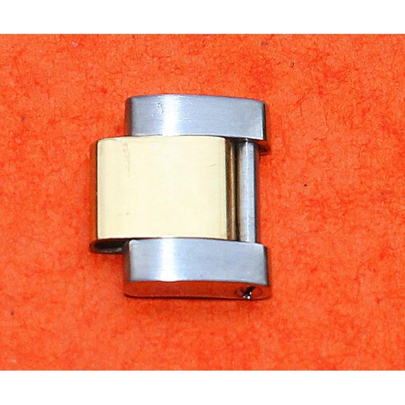 Rolex 1 x 78353 Oyster Gold 18K & Steel Link 14mm fits on 17/19mm watch bracelets oyster solid links tutone
