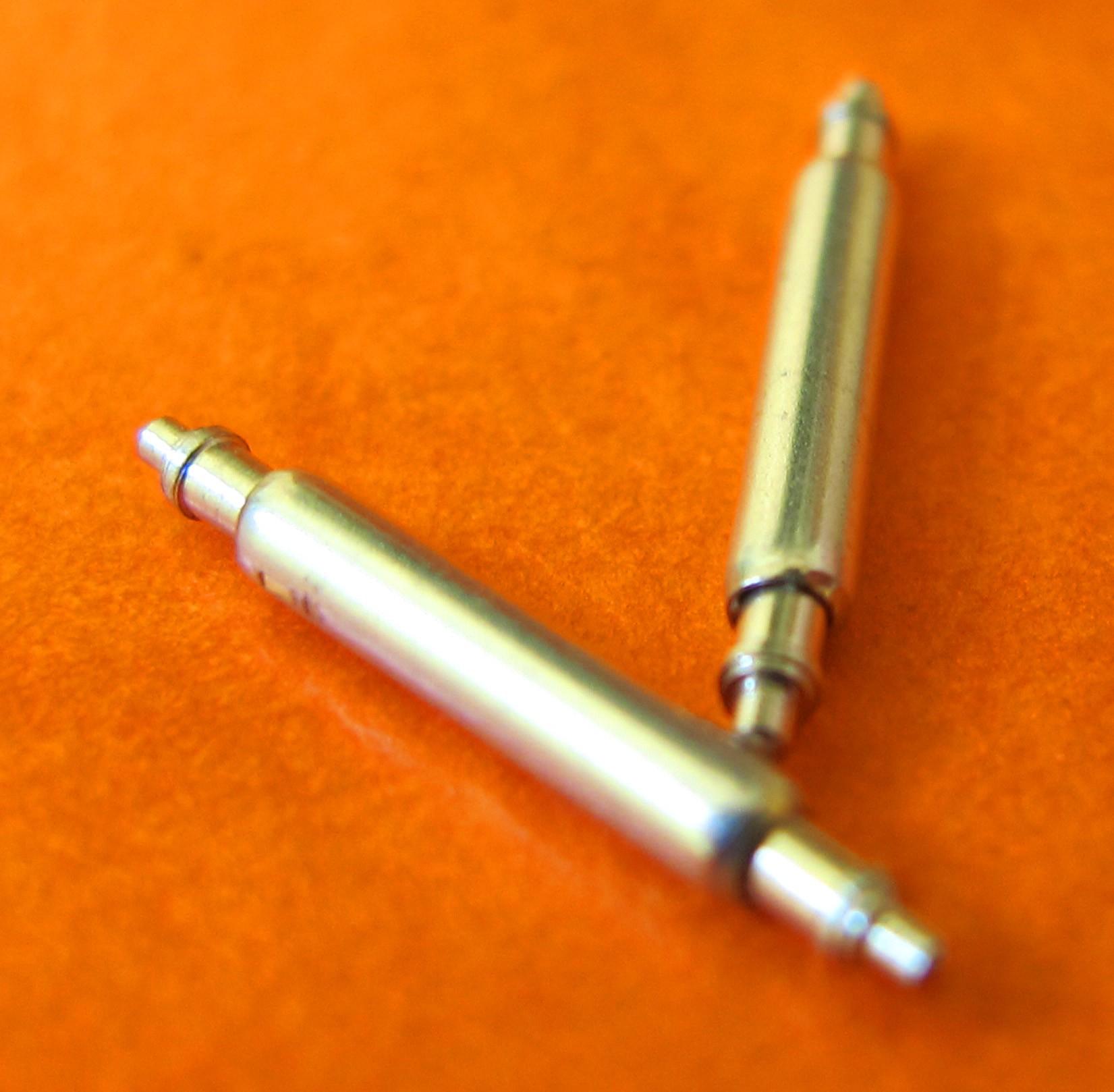 2 GOUPILLES POMPES 12mm FIXATION MONTRES ACIER INOX