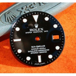 ROLEX RARE CADRAN 16660 MONTRES SEA-DWELLER TRIPLE SIX LUMINOVA SEA DWELLER SWISS MADE