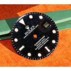 Rolex Factory Glossy Black watch dial 16800, 168000, 16610 Submariner date Black Index Luminova cal 3035, 3135