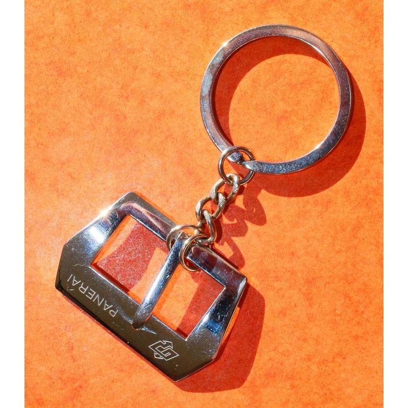 PANERAI Rare Vintage 1995 porte clef boucle ardillon acier montres Luminor, Marina, Radiomir, Submersible