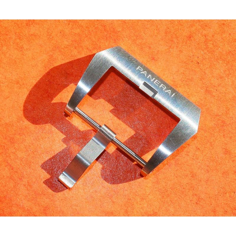 PANERAI Rare boucle ardillon acier bracelet cuir montres Luminor, Marina, Radiomir, Submersible 47mm