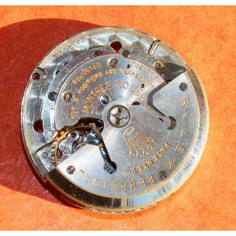 Rare 1950s Rolex Watch Calibre B 1055 Movement 25 Jewels Models: 6510, 6511, 6611, 6612, 6613