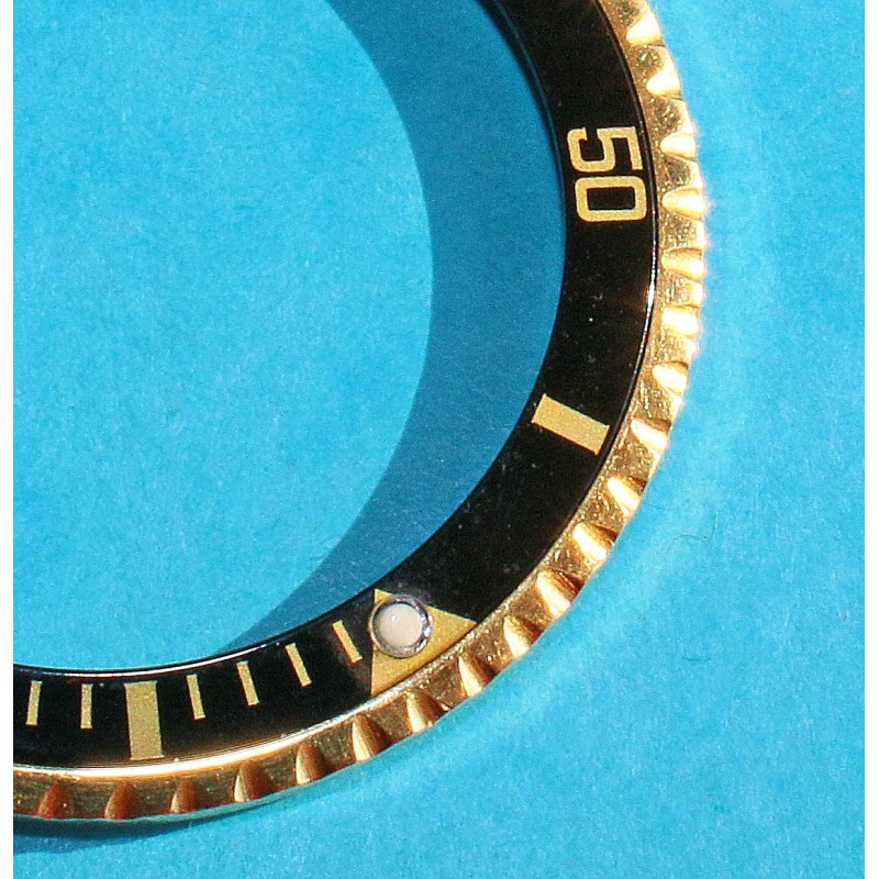 ROLEX VINTAGE TUTONE SILVERED ROOTBEER GMT MASTER WATCH BEZEL 24H INSERT FADED FAT FONT 1675, 1675-3, 1675-8, 16753, 16758