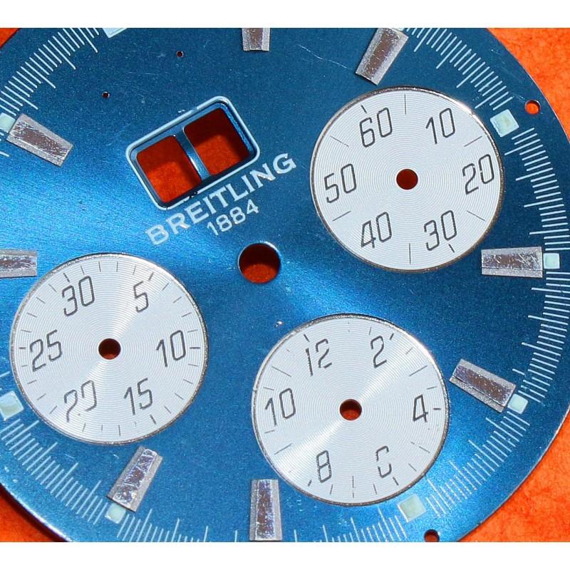 Breitling Cadran Montre chronomat Grande Date couleur noir Cal 7750 Valjoux à restaurer