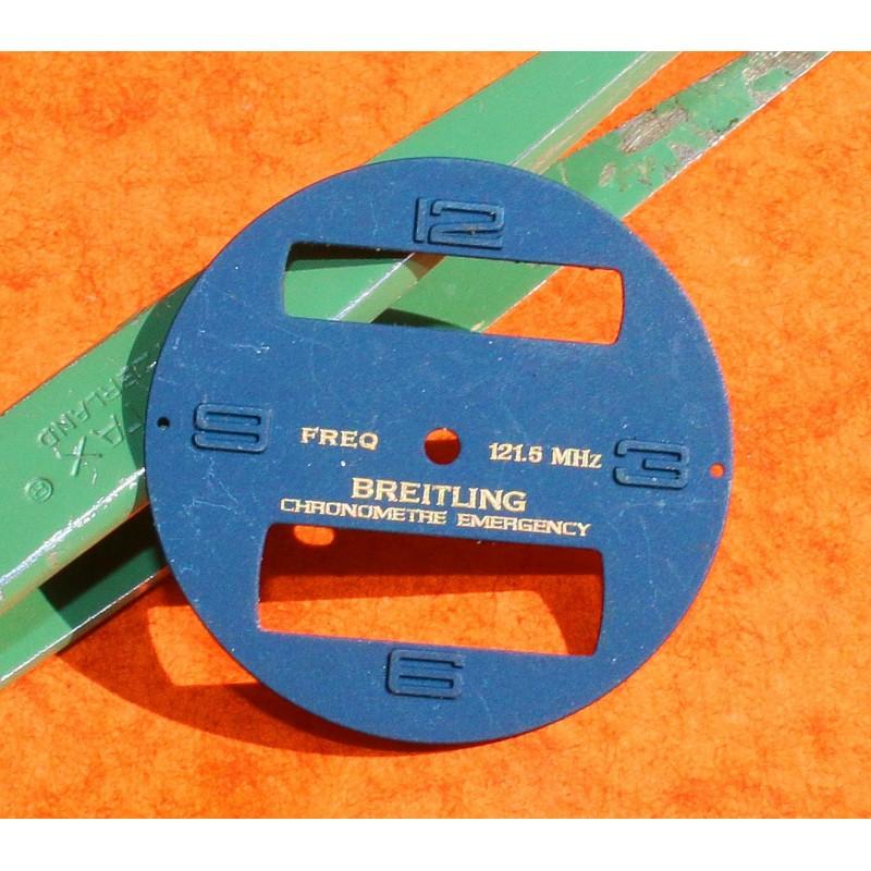 BREITLING CADRAN BLEU ref E56121 MONTRES EMERGENCY BLEU CHRONOMETER