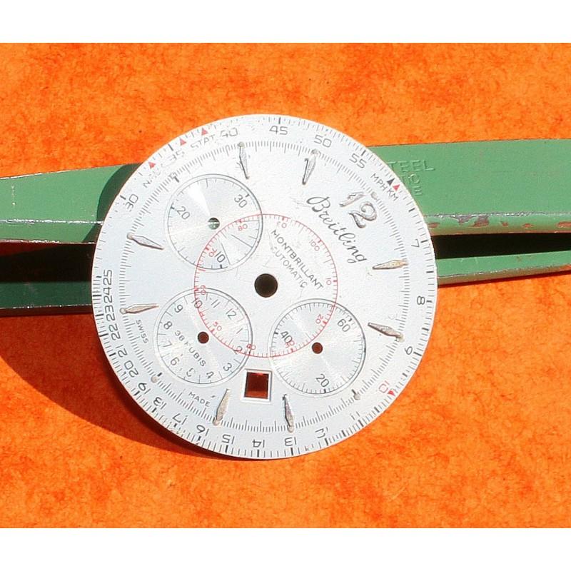 BREITLING CADRAN MONTRE MONTBRILLANT CHRONOMETRE AUTOMATIQUE COULEUR NOIR Ø29mm
