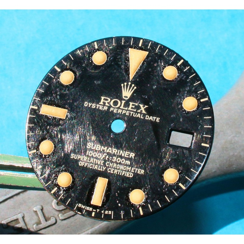 Original Rolex 16800 Eggshell dial Submariner date 16800, 168000, 16610 Black Index Tritium cal 3035, 3135