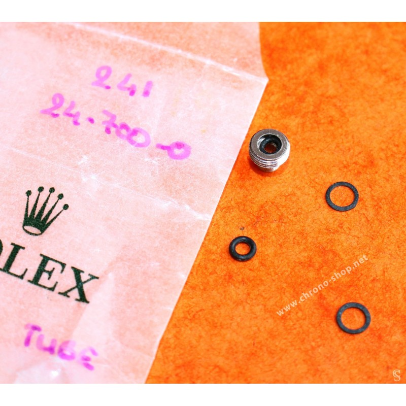 ★★ Rolex Rare couronne acier Rolex / Tudor submariner 24-700 Twinlock 7mm 5512, 5513, 1680 et Sea-Dweller 1665 NOS ★★