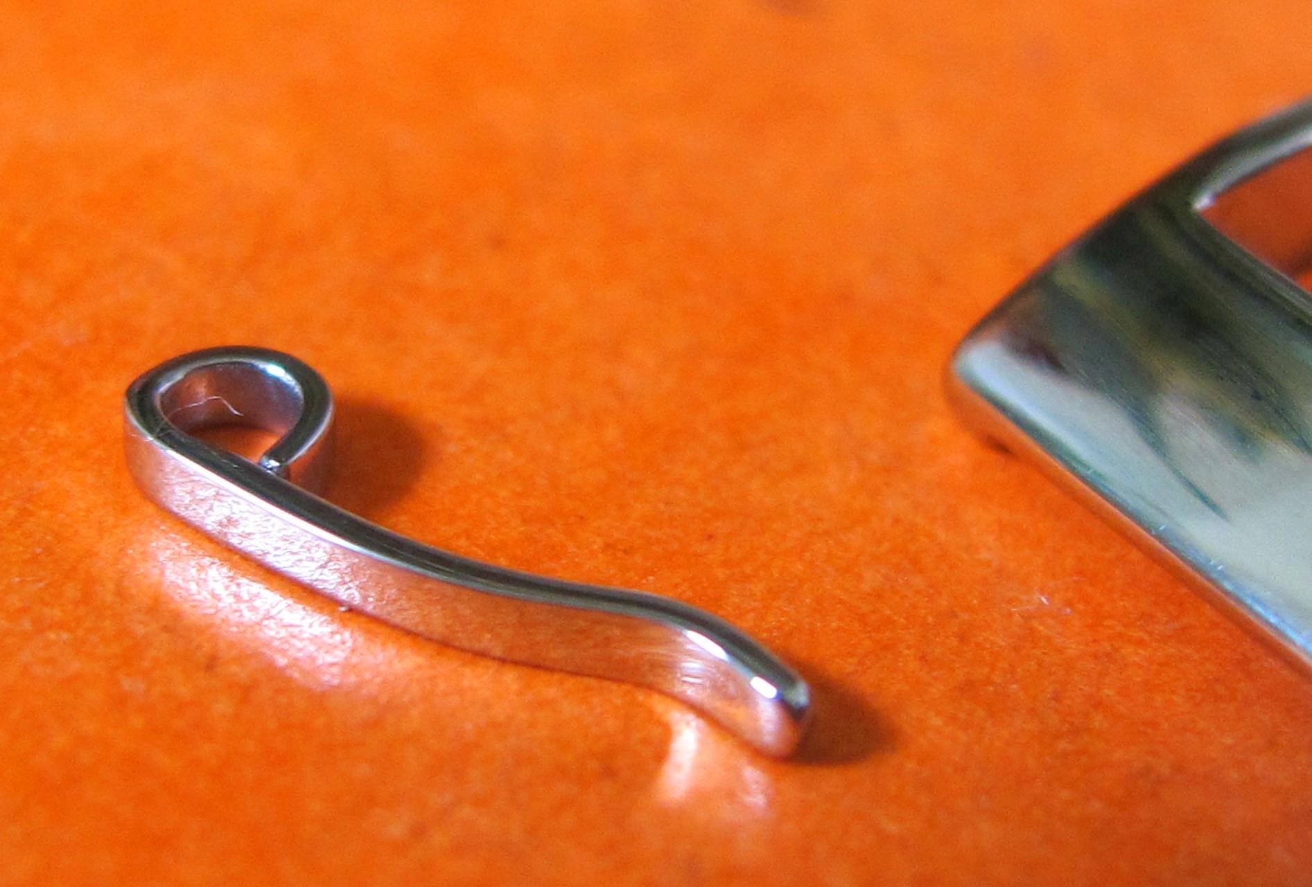 OMEGA BOUCLE ARDILLON 16mm ACIER INOX BRACELET