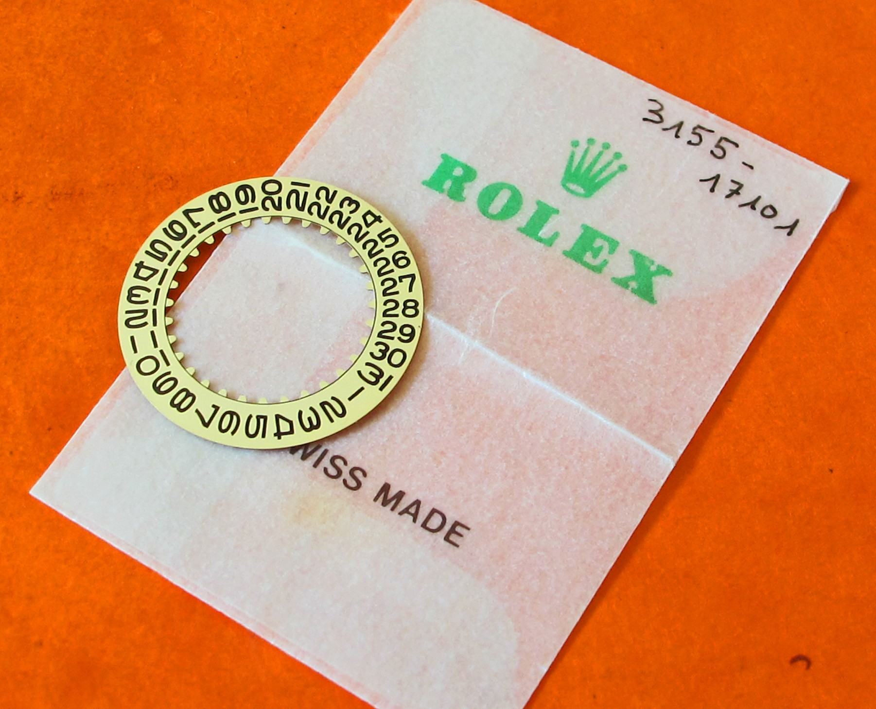 ROLEX Submariner 1680 gold Date Disc 1675 cal 1570 1560 1575