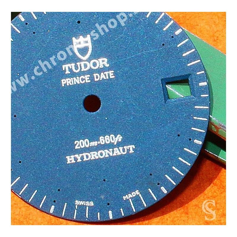 TUDOR ROLEX Cadran noir Original Prince Date montres de plongées Hydronaut 89190, 89193, 89190P