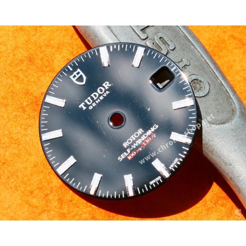 TUDOR Authentique & Rare Cadran de montres CLASSIC DATE Rotor SELF-WINDING 100m Ref 21013