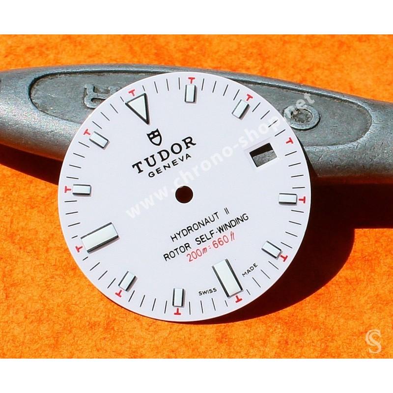 Tudor Sport Chronograph horology Genuine & Rare Watch Silver dial part ref 20300