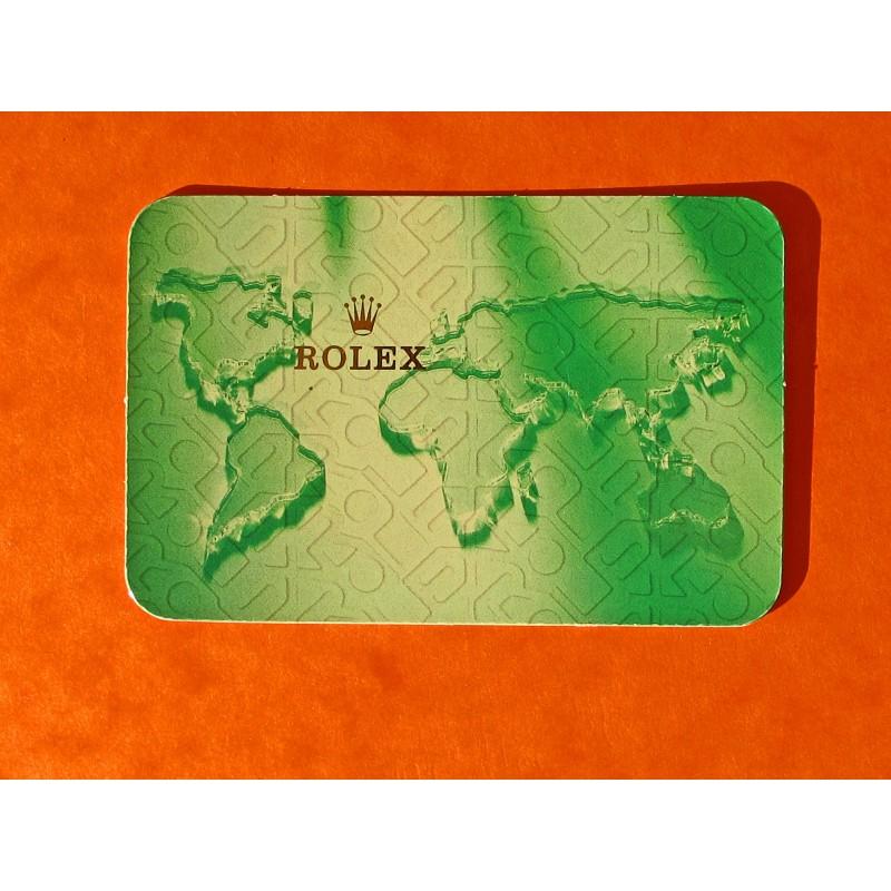 ROLEX CALENDAR 2001-2002
