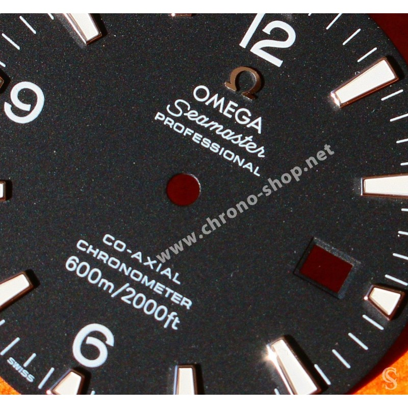 OMEGA Preowned 45mm Seamaster Professional, 600m Planet Ocean Ref.22005000 auto date Co-Axial chronometer Watch black dial