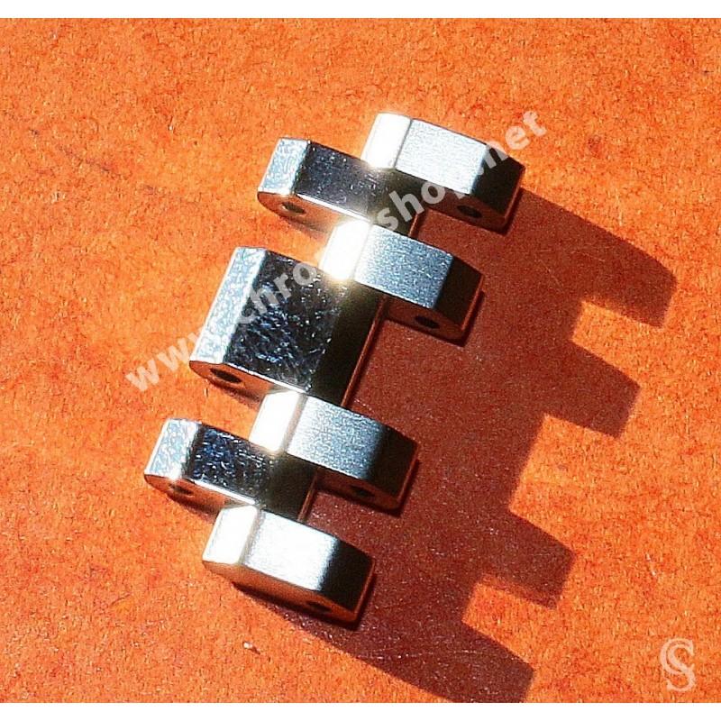 TAG HEUER Mint Monaco Extended link BA0780 bracelet heavy ssteel sixties Brushed & polished finition ref 3084Y, 21.5mm