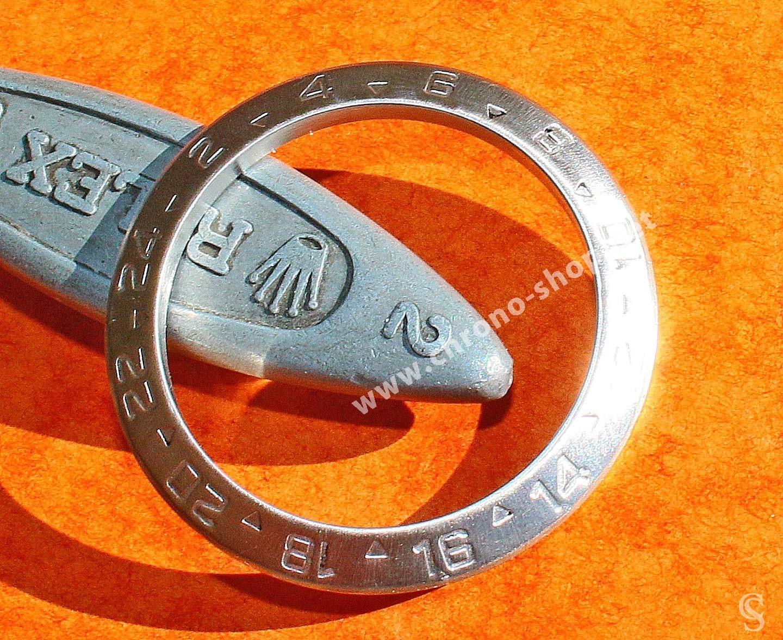 ROLEX LUNETTE GHOST Ø39mm 24H GMT ACIER GRADUEE DE MONTRES SPORTS OYSTER EXPLORER II 16570, 16550 VINTAGE