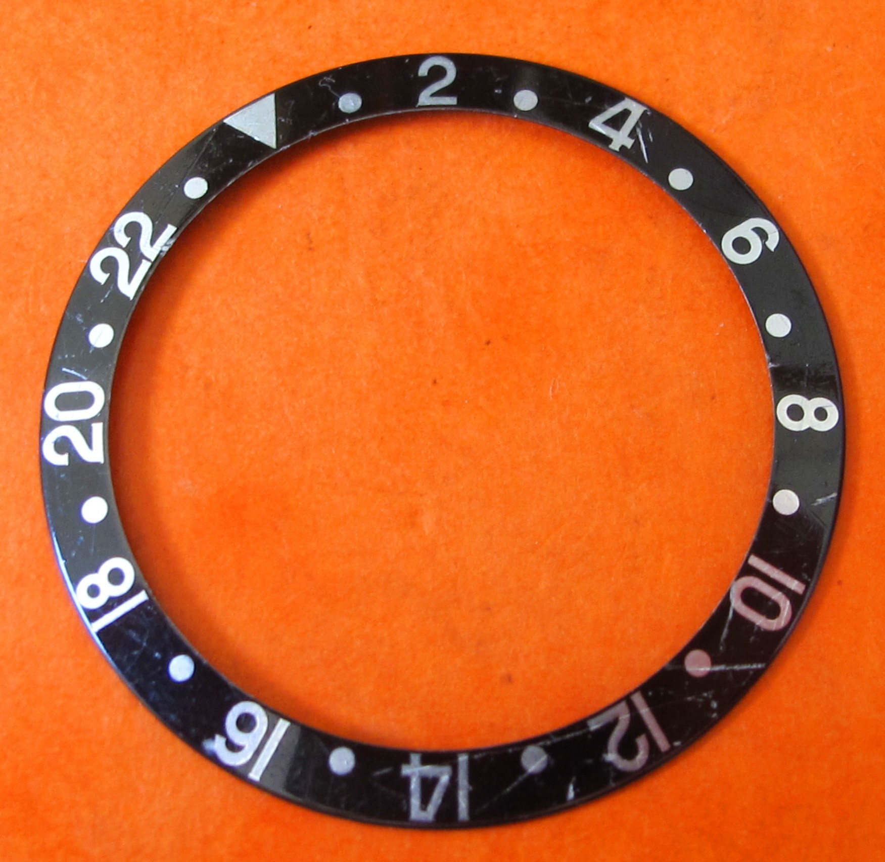 VINTAGE ROLEX INSERT GMT MASTER 16700 16710 16760