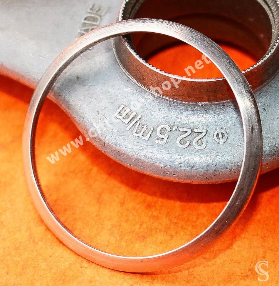 Vintage Rolex Polished bezel Stainless Steel S/S Watch Bezel Part Ø34mm Datejust 1600, 1601, 1603