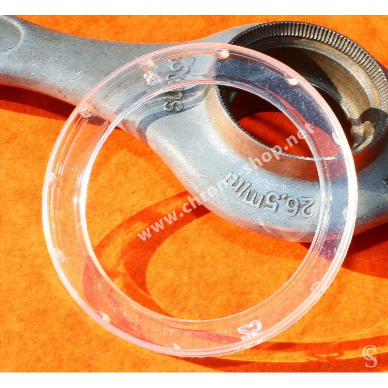 Genuine BREITLING Wrist Watch Clear Plastic Bezel Protector Cover NAVITIMER, COSMONAUTE 43mm