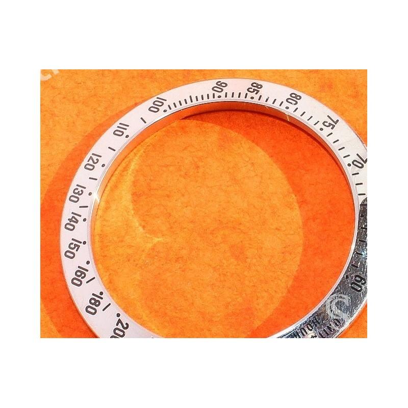 """ROLEX ORIGINALE LUNETTE GRAVÉE ACIER """"GHOST"""" TACHYMETRE MONTRES COSMOGRAPH DAYTONA 16520, 116520"""