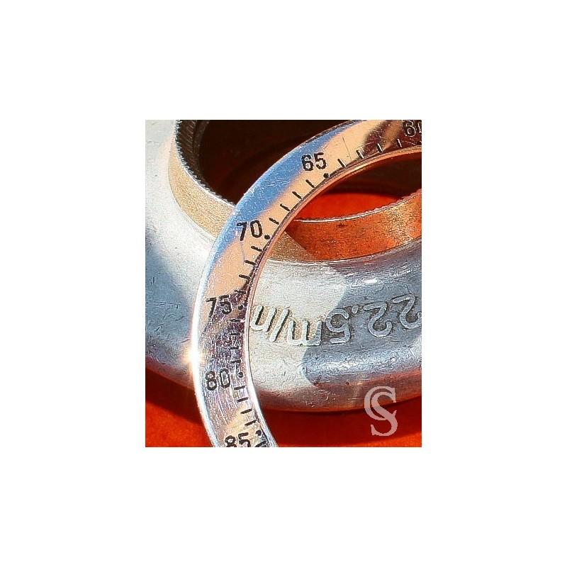 ROLEX BEZEL Insert POLISHED WATCH COSMOGRAPH DAYTONA 16520, 116520 OEM Original STAINLESS STEEL Zenith
