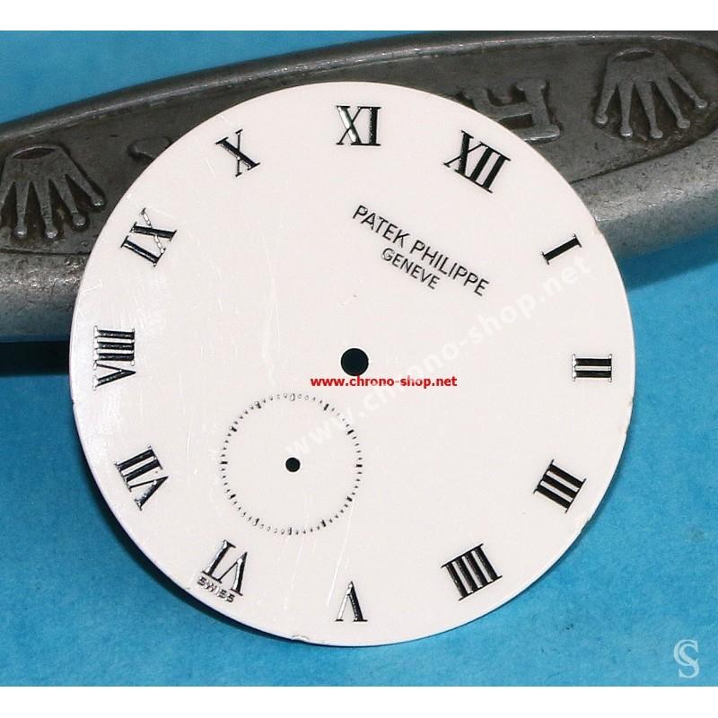 Patek Philippe Genève CALATRAVA 3919G Cadran de montres couleur blanc chiffres romains