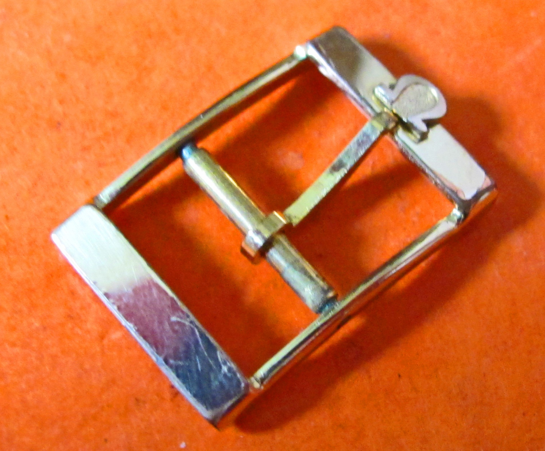 70'S OLD OMEGA GOLD PLATED 14mm MENS WATCH BUCKLE