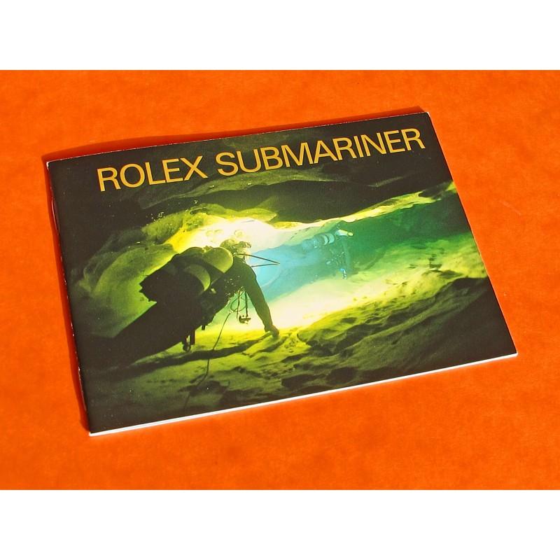 1992 ROLEX SUBMARINER BOOKLET 16600-14060...