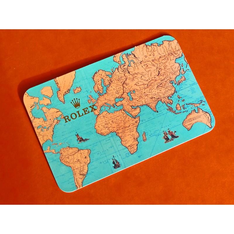 ROLEX VINTAGE CALENDAR CARD 1995-96