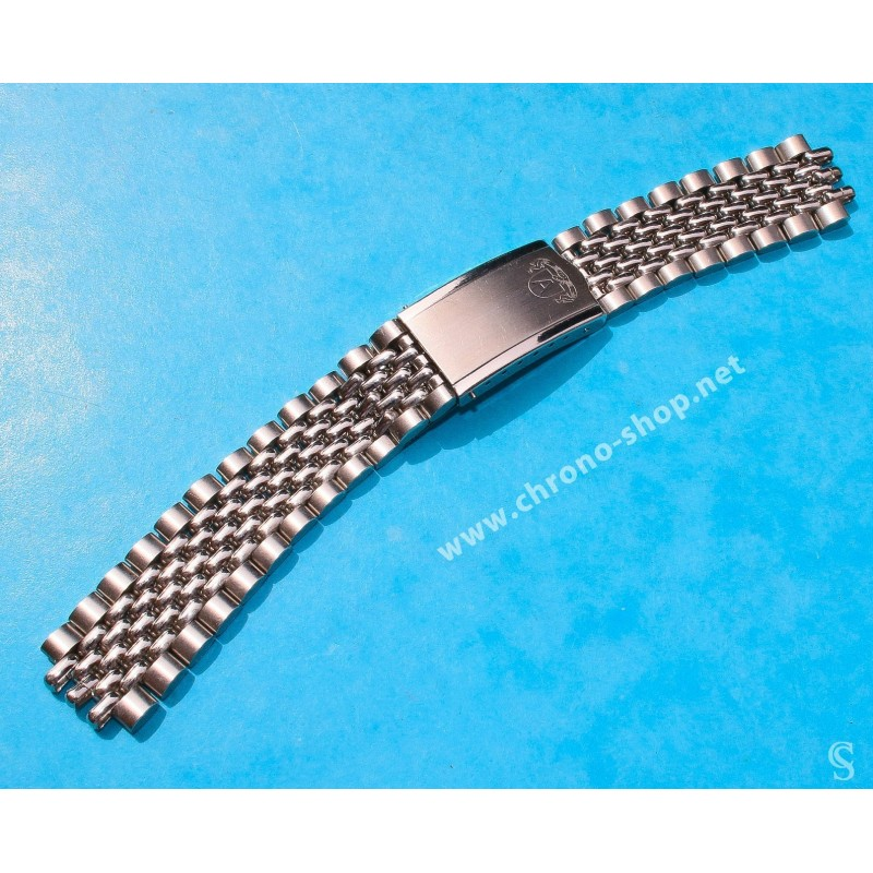 Accessories Watch Vintage Rare 60's Bracelet Triple Jubilee or Rice beads Steel Luxurious Watches