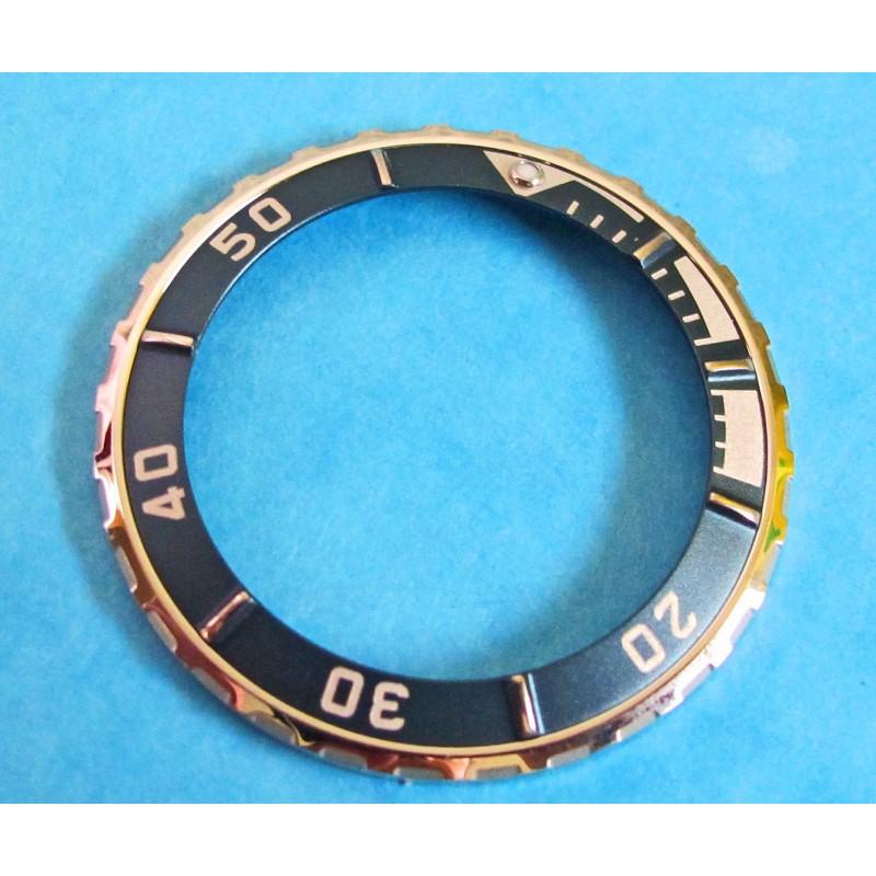 Tudor Oyster Hydronaut 85190 Prince Mid Sized Date Blue & Steel Watch Bezel Insert