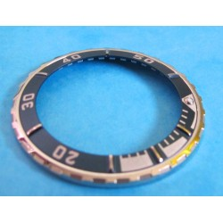 TUDOR LUNETTE MEDIUM INSERT HYDRONAUT ref 85190 VINTAGE  PRINCE DATE INSERT VERSION SAPHIR BLEU